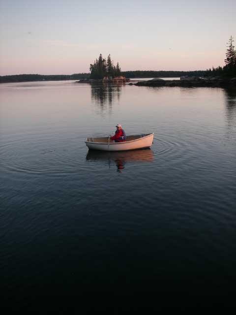 Bennett rowing dinghy
