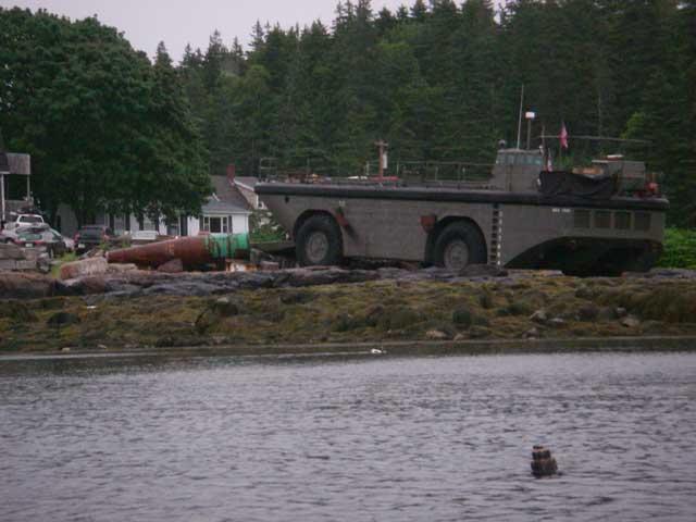 Landing Craft in Port Clyde